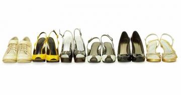 Verschiedene Schuhmodelle für Frauen